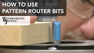 Cutting Woodworking Project Parts Pattern Router Bits
