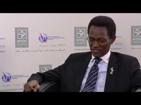 WTDC-14 ENTRETIEN: Tharcisse Nkezabahizi, Ministre des Telecommunications, République du Burundi