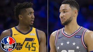 NBA film breakdown: Ben Simmons vs. Jazz   SportsCenter