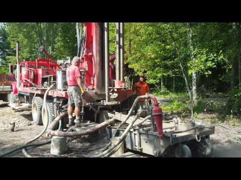 Drilling Water Well