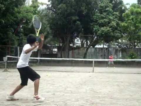 College Tennis Video