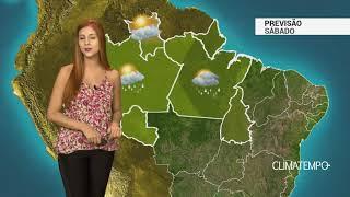 Previsão Norte - Frente fria aumenta chuva