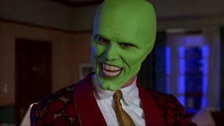Маска (1994) - Стэнли Ипкисс надевает маску Локи HD