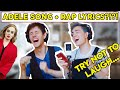 Singing Songs With Other Song's Lyrics