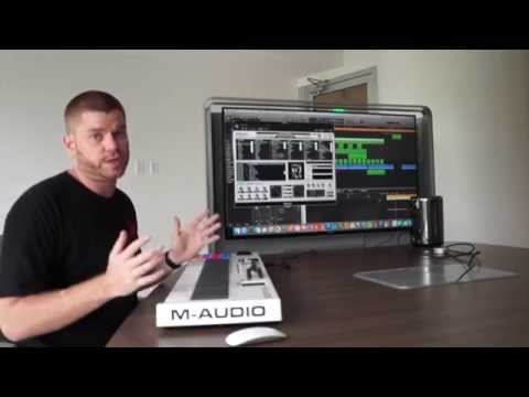 M-Audio CODE Keyboard Review Video