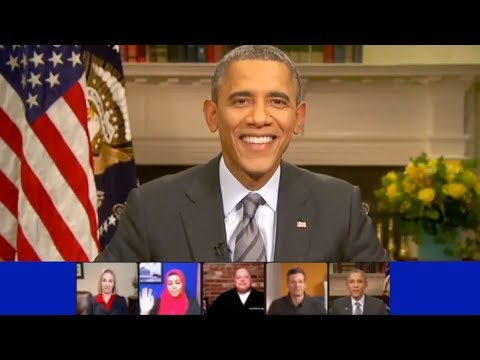 Obama's 2014 Google+ Hangout (Complete - HD)