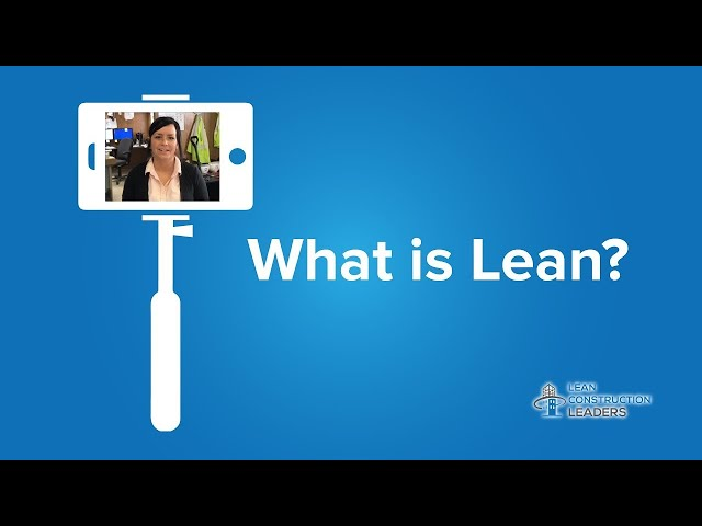 Erin Bengston - What is Lean? - Part 1
