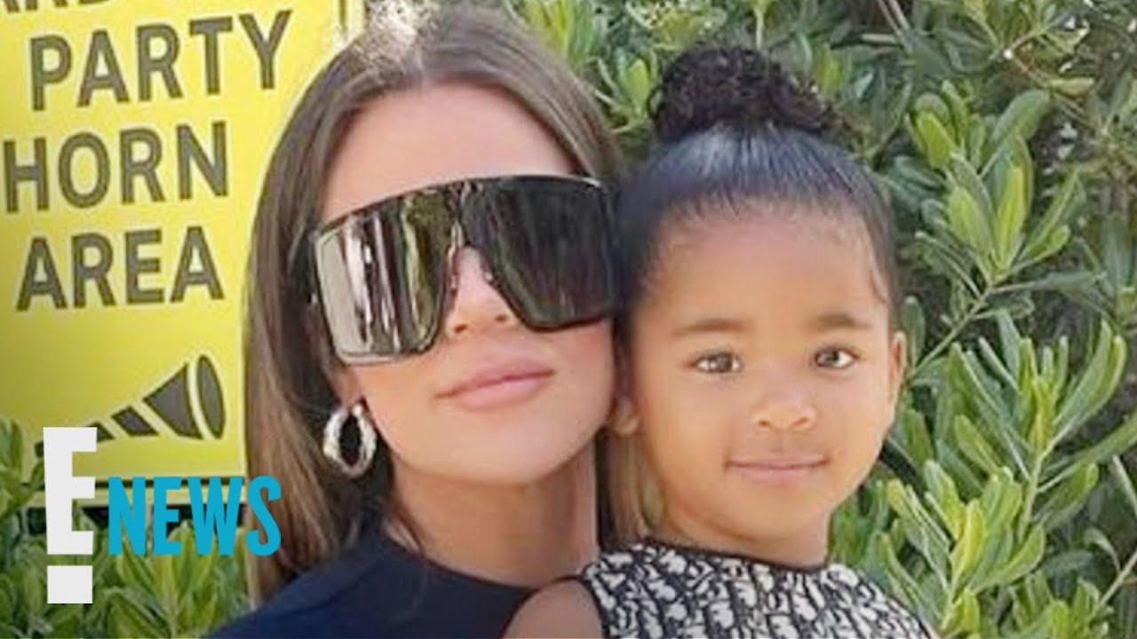 Khloe Kardashian & True Thompson Twin in Adorable Dior Outfits News