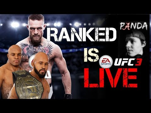 UFC 3 Ranked Championship (You Choose who I Use)
