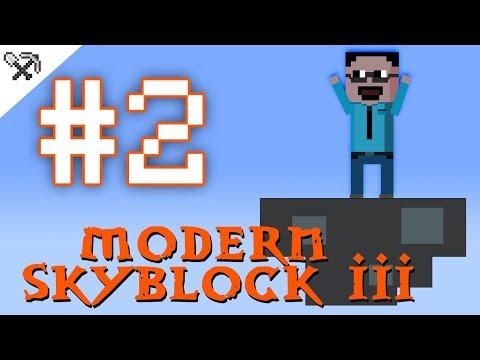 ② Monster trapka 👾 - Modern Skyblock 3 #2
