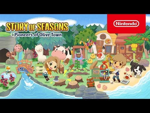 STORY OF SEASONS: Pioneers of Olive Town - Launch Trailer - Nintendo Switch