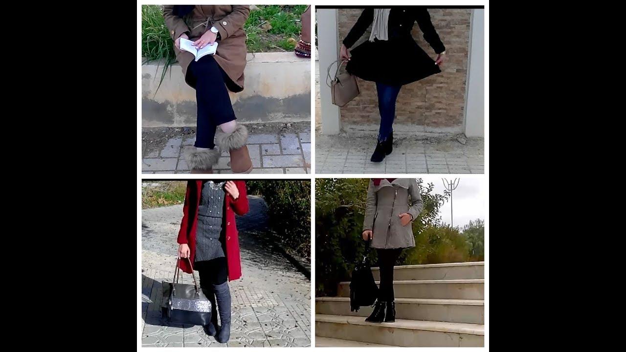 [VIDEO] - Winter lookbook?تنسيق ملابسي للشتاء 2