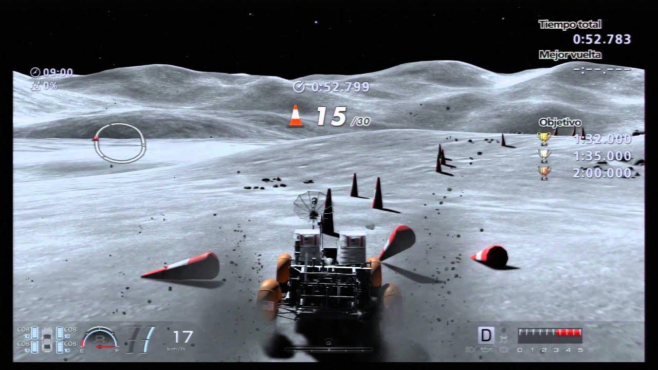 GT6 Exploracion Lunar III Conos en ORO / GT6 Lunar exploration 3 ...