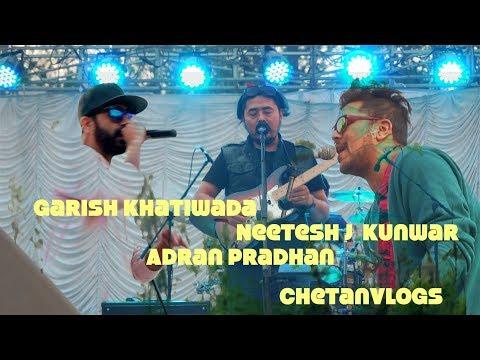Adrian Pradhan Girish Khatiwada and Neetesh Jung Kunwar on the LIVE