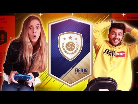 OMG MY GIRLFRIEND PACKS SOME OF THE BEST PLAYERS ON FIFA - FIFA 18 PACK OPENING