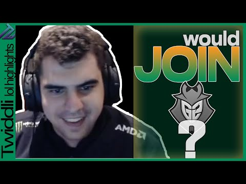 Would I JOIN G2?   TALK w/ COMP about being BENCHED   BWIPO - RIVEN gameplay