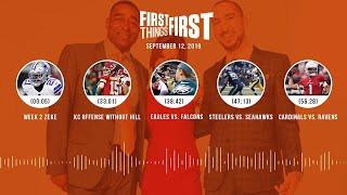 First Things First Audio podcast (9.12.19)Cris Carter, Nick Wright, Jenna Wolfe | FIRST THINGS FIRST