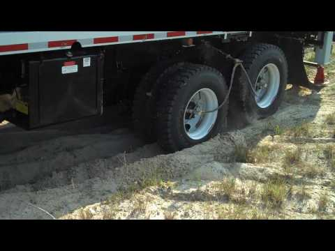 Florida Power and Light Tireboss 6x6 Sand Demo