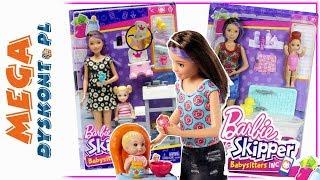 Barbie Skipper Babysitters  Opiekunka dla bobasów  Mattel
