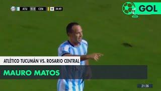 Mauro Matos (1-1) Atlético Tucumán vs Rosario Central | Fecha 12 - Superliga Argentina 2018/2019