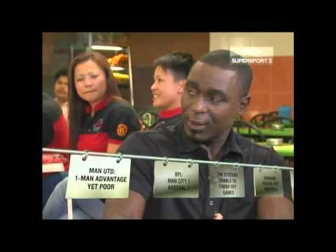 MyManUtd in Bola@Mamak with Andrew Cole