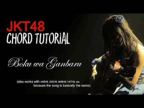 (CHORD) JKT48 - Boku wa Ganbaru