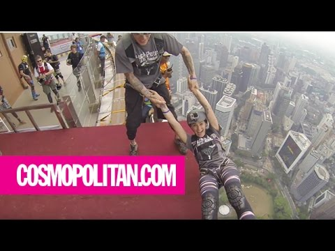 What It's Like to Be a BASE Jumper | Cosmopolitan