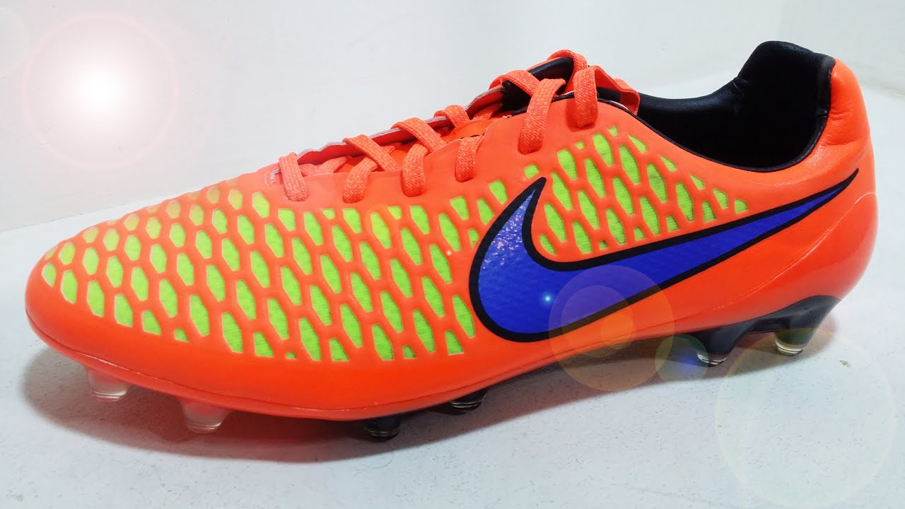 d3f4e60a2 Unboxing New 2015 Nike Magista Opus FG - Intense Heat | KimFootball ...