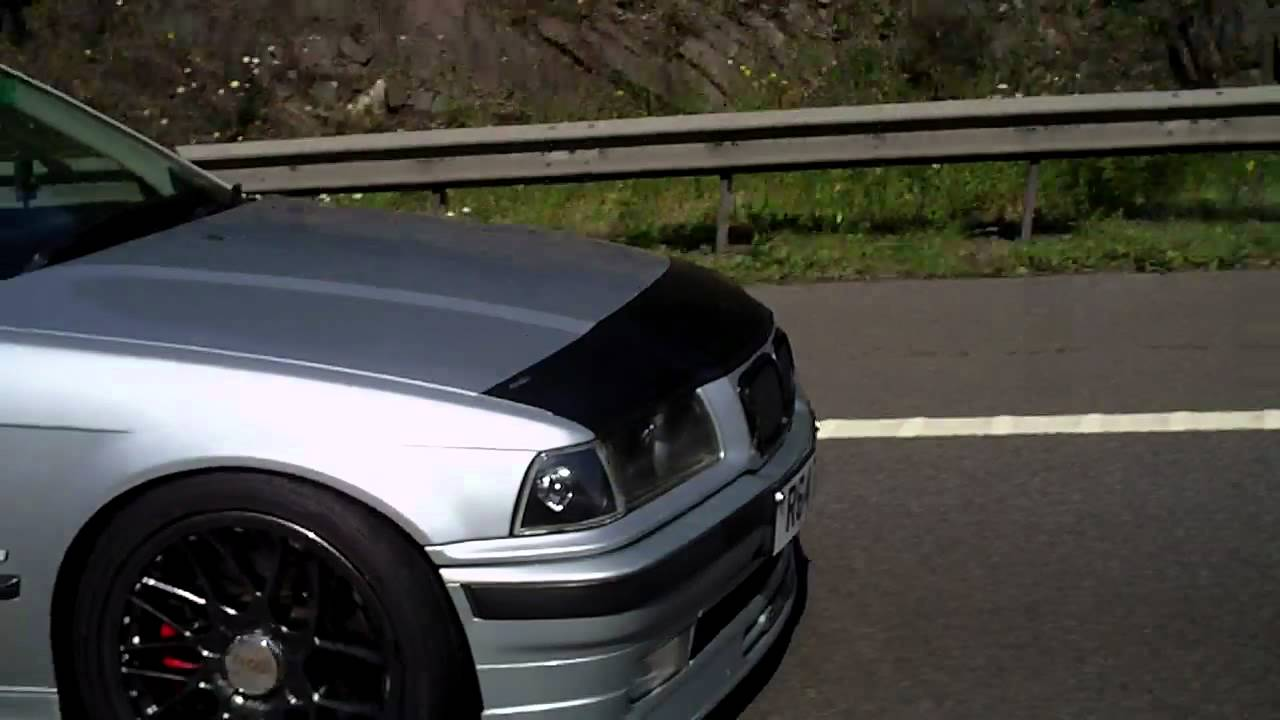 Bmw E36 Black Chrome Wheels 3