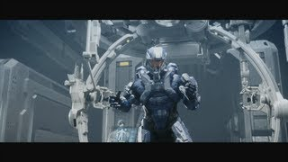 HALO 4 INFINITY / SPARTAN OPS INTRO VIDEO