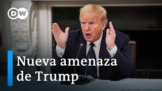 Trump arremete contra la OMS... ¡otra vez!