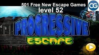 [Walkthrough] 501 Free New Escape Games level 52 - Progressive - Complete Game
