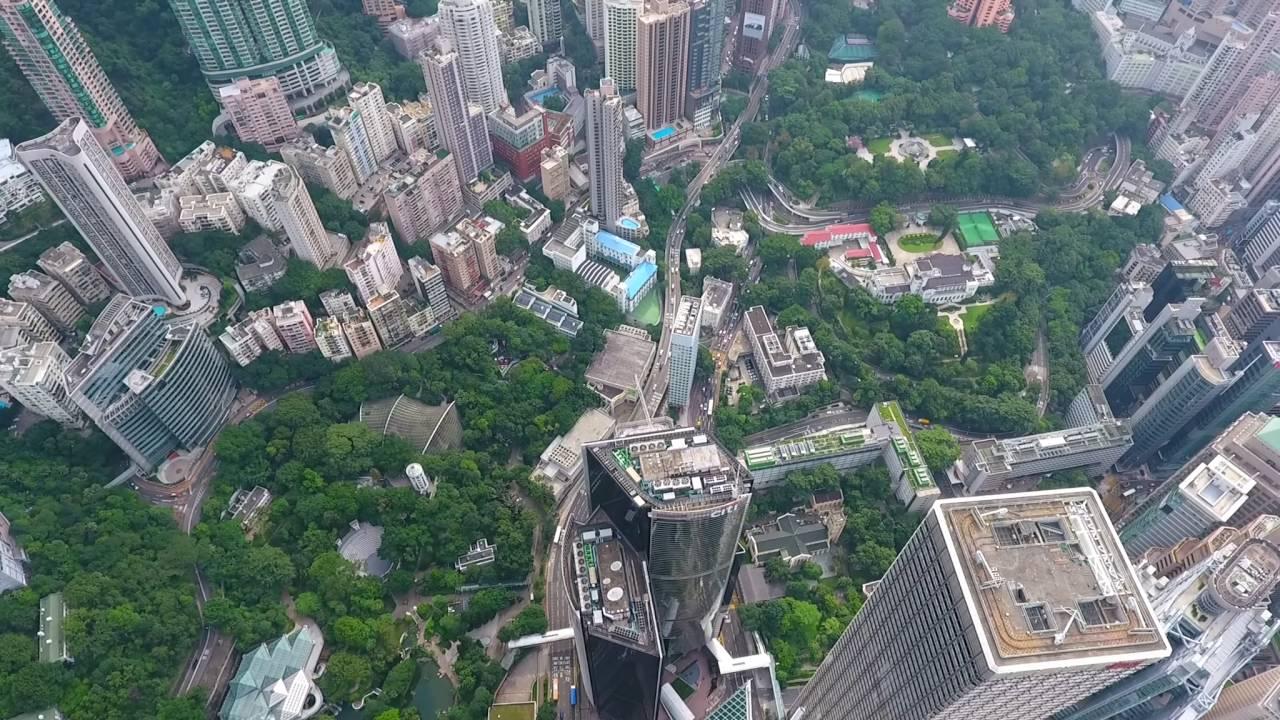 香港維港航拍 HD P4 - YouTube