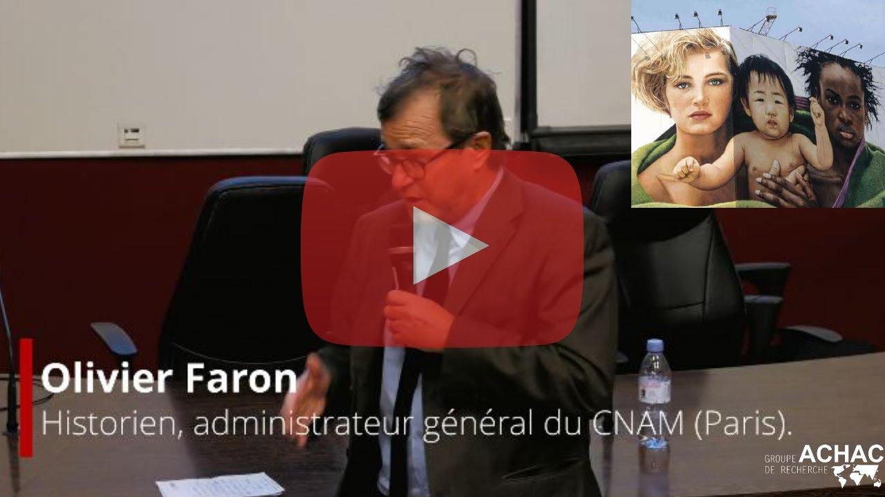 """Olivier Faron au colloque """"Images, colonisation, domination sur les corps"""" - CNAM 03/12/2019"""