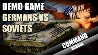 Team Yankee Command School: Germans Vs Soviets Demo Game