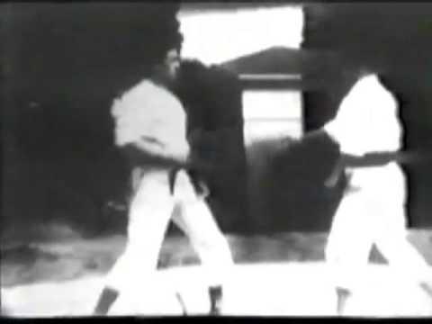 Gichin Funakoshi - Historical Video. часть1