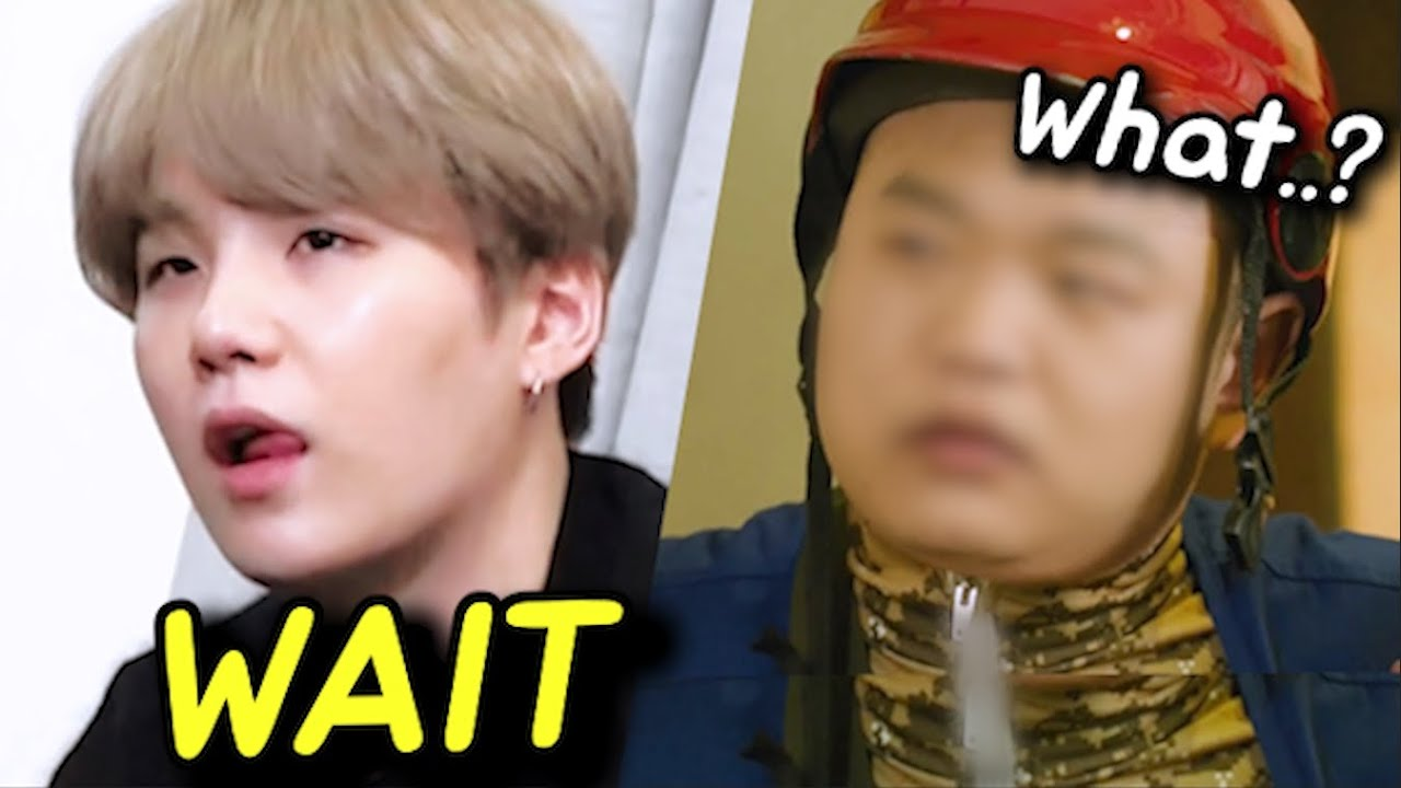 How BTS SUGA Treats the Delivery Man who Came to his House