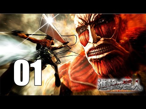 Attack on Titan - Gameplay Walkthrough Part 1: The 104th Cadet Corps