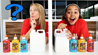 TIANA'S BEST SLIME CHALLENGE!! Parents Edition