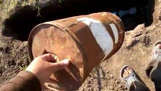 Старое ведро и ключ для орошения(Как сделать колодец для крана ? Делюсь об этом в видео ., 2016-06-04T18:37:20.000Z)