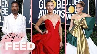 Golden Globes 2020: Fashion Recap | ET Style Feed