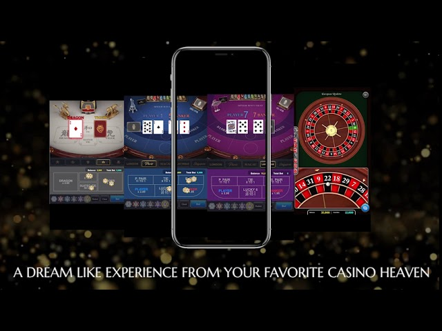 How a well completed online Baccarat game looks like.