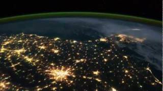Best Earth Time Lapse View from Space, Fly Over NASA ISS, Strange Global Aurora Borealis