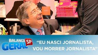 """Eu nasci jornalista, vou morrer jornalista"", dizia Paulo Henrique Amorim"