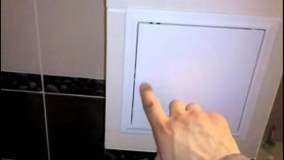 маленькие хитрости: пластиковый ревизионный люк...(Этот ролик обработан в Видеоредакторе YouTube (https://www.youtube.com/editor), 2016-03-21T05:40:00.000Z)