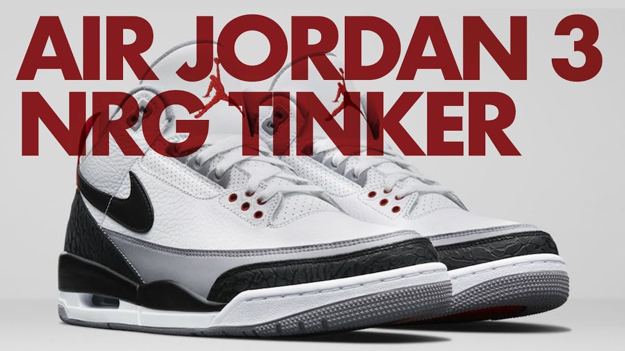 57e51f057c54 Closer look at  AIR JORDAN 3 NRG Tinker Hatfield - Release Date  March 24