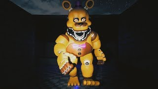 Fredbear Comes To Life.. TERRIFYING CHASE! || FNAF Five Nights at Fredbears
