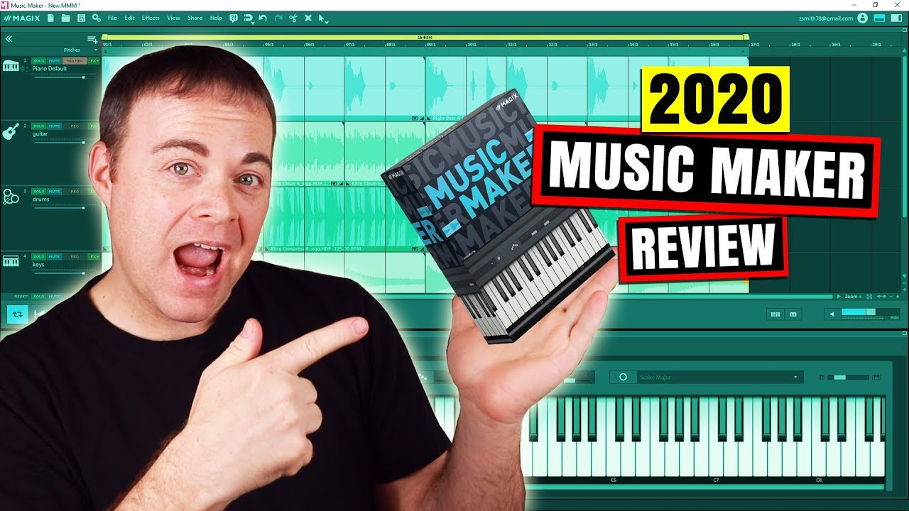 Best Free Vst Plugins 2020 Magix Music Maker Free, Plus and Premium 2020 Review – Audio Tech TV