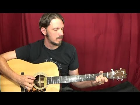 Walk on Boy by Doc Watson Chords & Solo Guitar Lesson