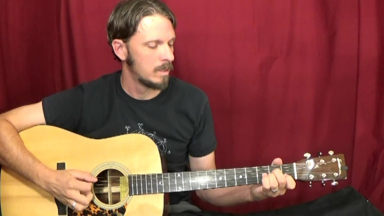 Walk On Boy By Doc Watson Chords Solo Guitar Lesson Youtube